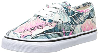 Image Unavailable. Image not available for. Color  Vans Authentic Girls  Fashion Sneaker ... 5e23d2ac18