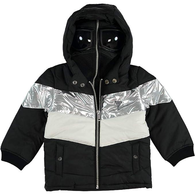 cheap for discount 234e6 31fd5 Guess Giubbino Bambino N84L02-WANL0 Nero 3: Amazon.it ...