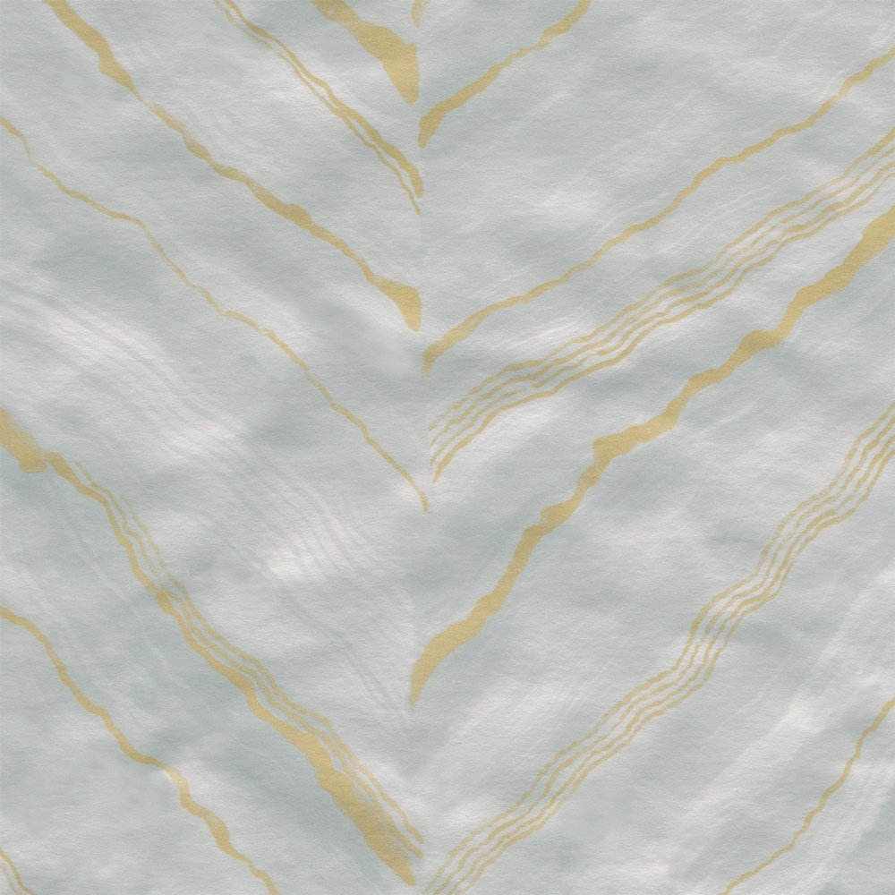 Entertaining with Caspari 8986RC Marble Grey Pale Silver Foil Embossed Roll of Gift Wrap, Marble Silver by Entertaining with Caspari