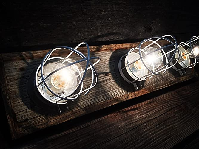 Amazoncom Bulkhead Nautical Bathroom Vanity Light Bar Handmade - Nautical bathroom vanity lights