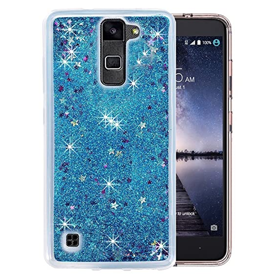 new style 9640f 058eb Case for LG Stylo 2,Sparkle Stars Liquid Glitter Quicksand Dynamic Stars  Soft TPU+Hard PC Case for LG Stylo 2/Stylo 2 Plus MS550/LG Stylus 2/LG ...