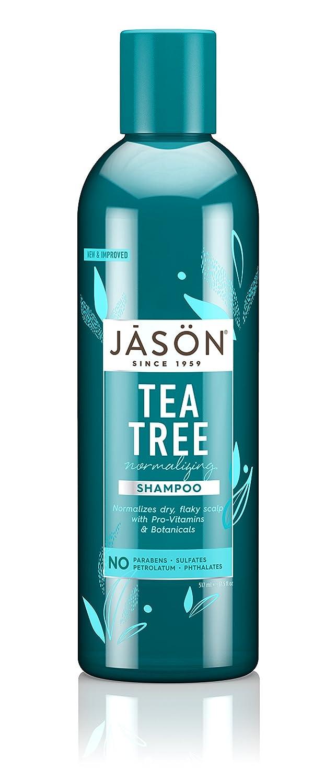 Jason Natural Products Tea Tree Oil Shampoo Hair & Scalp Therapy 517 ml 00078