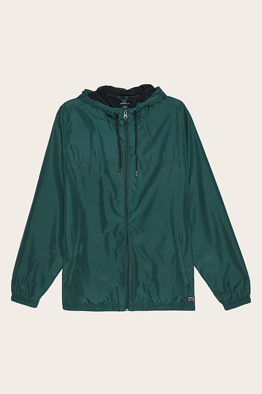 ONEILL Mens Ripstop Water Resistant Windbreaker Rain Jacket