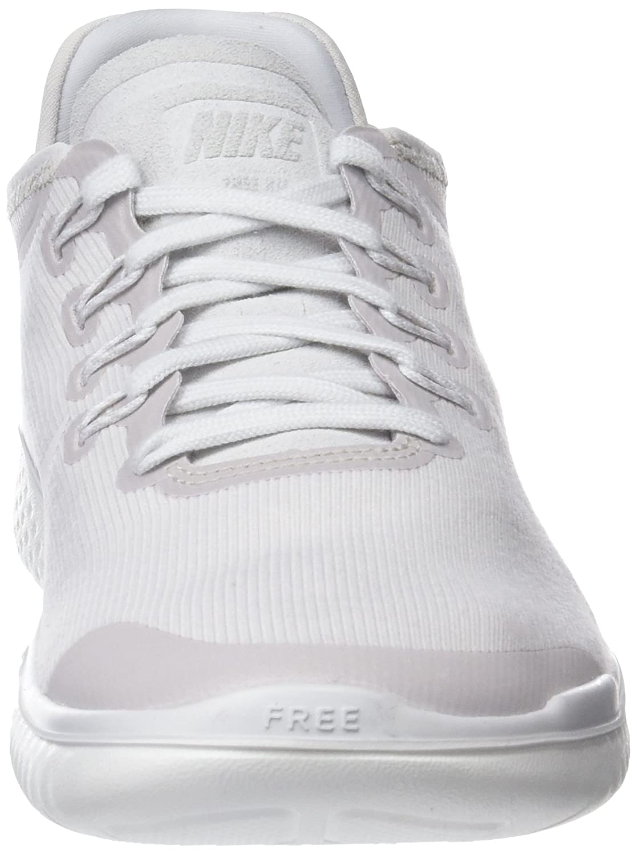 72235e72b713 Amazon.com  Nike Free Rn 2018 Sun Sz 5 Womens Running Vast Grey Summit  White Shoes  Sports   Outdoors
