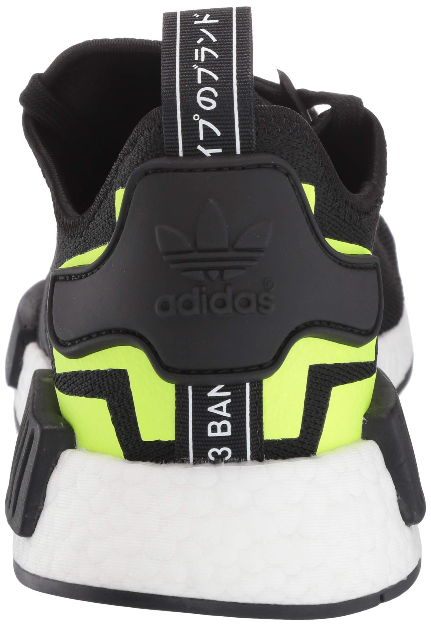 adidas Originals Men's NMD_R1 Running Shoe, Black/White 1, 4 M US by adidas Originals (Image #2)