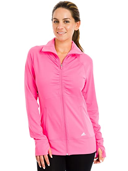 Buy adidas Sport Performance Ultimate Jacket, Neon Pink