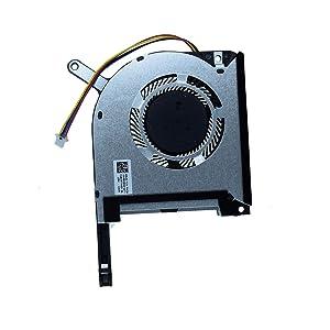 DREZUR Graphics VGA GPU Cooling Fan Compatible for TUF A15 FA506 FX506LU FA506IV A17 FA706 Series Laptop Cooler 13NR00SOM12011 DQ6D577K001(GPU Fan)