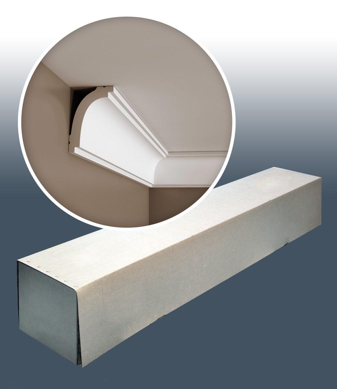 1 Box 10 pieces Cornices Mouldings 20 m Orac Decor CB523 BASIXX