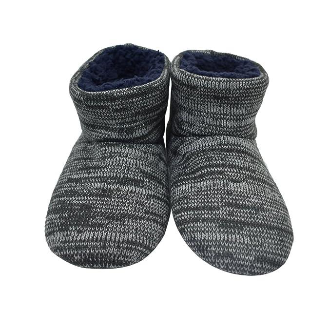 MStar qualità Pantofole Scarpe Foderate di Alta Mens Calde ZZpOq
