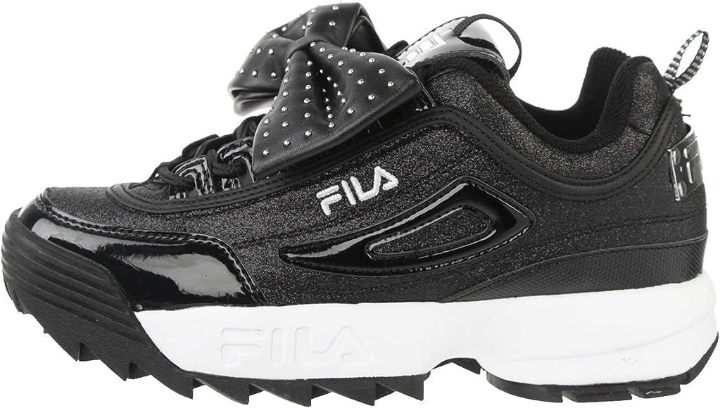 Zapatilla Fila | Negro: Amazon.es: Zapatos y complementos