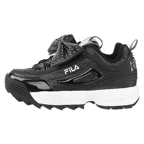 Fila Sneaker damen Disruptor Glam Low 1010537 40 schwarz