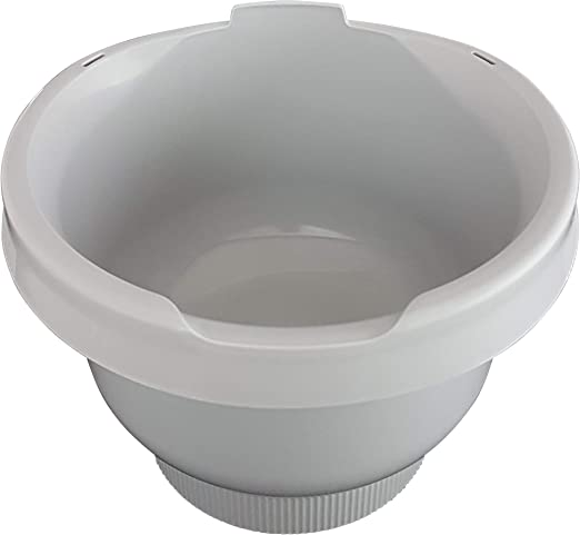 Bol para mezclar MUZ4KR3 gris claro para robot de cocina Bosch ...