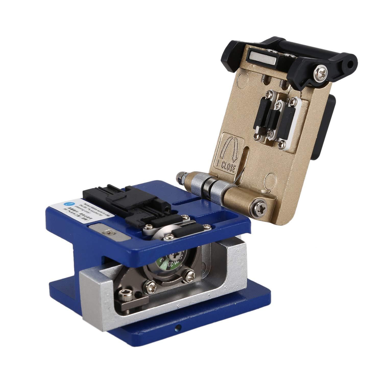 Moligh doll Kit De Herramientas Ftth De Fibra /óptica con Cuchilla De Fibra Fc-6S y Medidor De Potencia /óptico 5 Localizador De Fallas 1Mw Cable Stripper