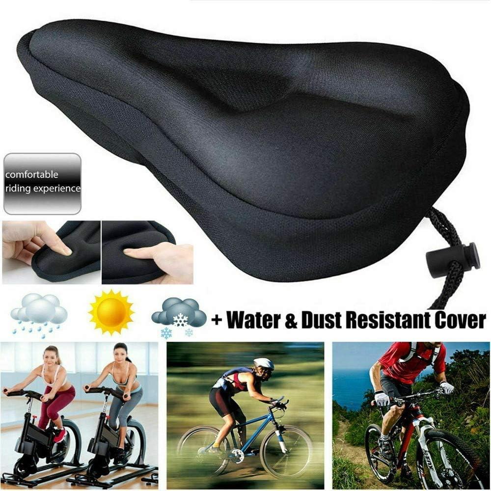 Comfort Gel Bicycle Seat Soft Road Mountain Bike Saddle Cycling Cushion Pad