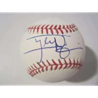 $204 » Tyler Naquin Cleveland Indians Autographed Signed Memorabilia Official MLB Baseball JSA Authentic