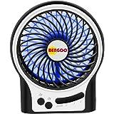 BENGOO Fan Portable USB Fan Mini Desktop Desk Table Electric Rechargeable Fan for laptop room office outdoor travel