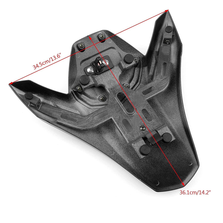Black 17-18 Rear Seat Fairing Cover Cowl ABS plastic for Kawasaki Z900 ABS