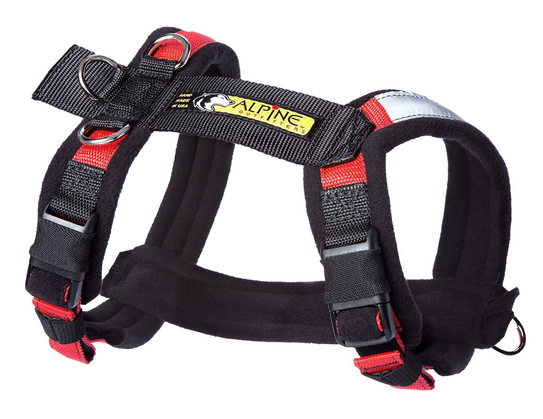 Urban Trail Padded Adjustable Dog Harness (Extra Large, Red) by Urban Trail Padded Dog Harness