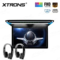 XTRONS FHD Ultrafino de 15,6pulgadas Digital TFT pantalla