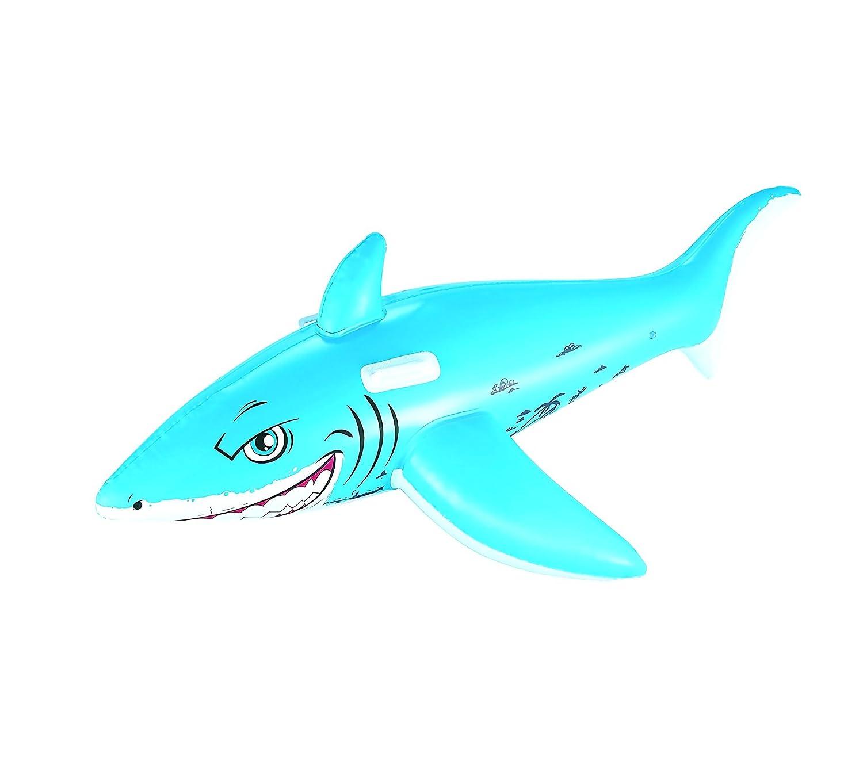 41032 Hinchable en forma de tiburón cabalgable BESTWAY para ...