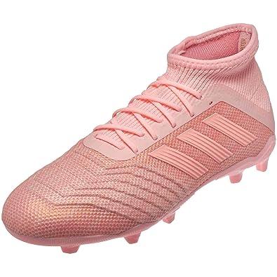 284fe0f3e2086 Amazon.com | adidas Junior Predator 18.1 FG Soccer Cleats (Clear ...