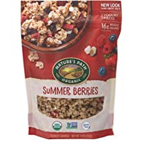 Nature's Path Honey Almond Granola, Healthy, Organic & Gluten Free, 11 Ounce Pouch