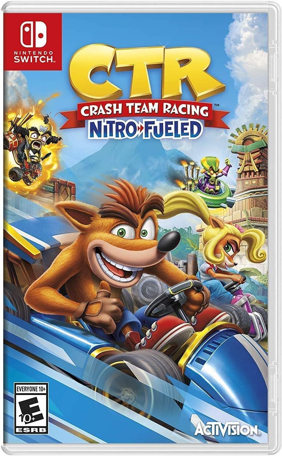 Amazon com: Crash Team Racing - Nintendo Switch: Activision