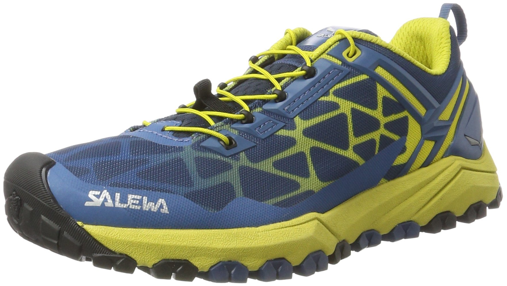Salewa Men's Multi Track Speed Hiking Shoe, Dark Denim/Kamille, 9.5 D US