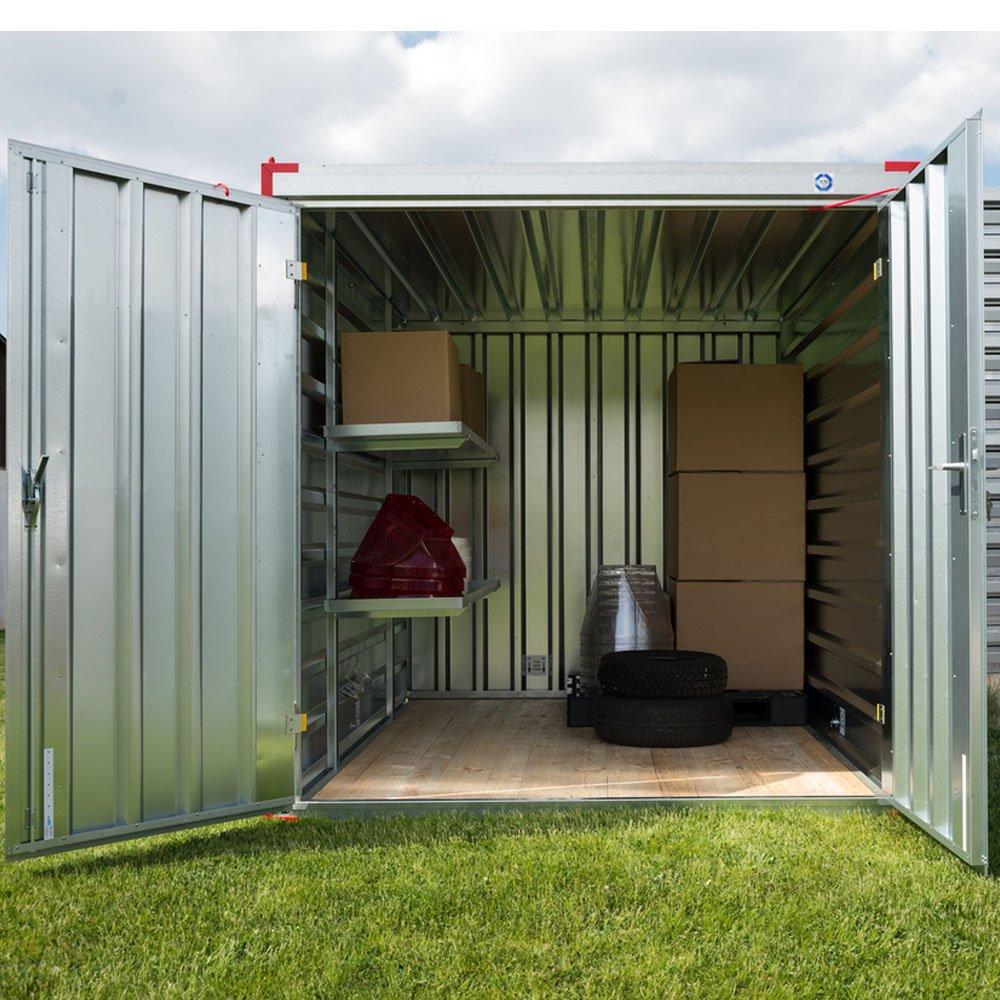 XXL Almacenamiento Contenedor Jardín Caja Contenedor Herramientas Cobertizos Diseño Contenedor 5 m x 2,20 m: Amazon.es: Bricolaje y herramientas
