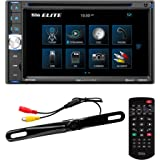 BOSS Audio Systems Elite BV765BLC Car DVD Player with Rearview Backup Camera - Double Din, Bluetooth Audio and Calling, 6.5 I