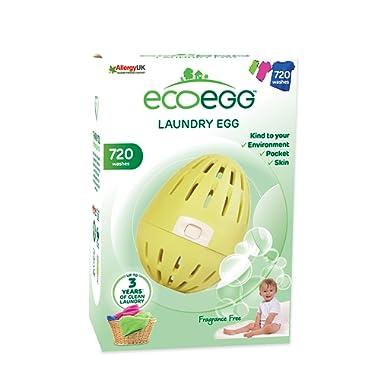 Ecoegg EELE720FF Fragrance Free Laundry Egg Detergent,Fragrance Free,720 Loads