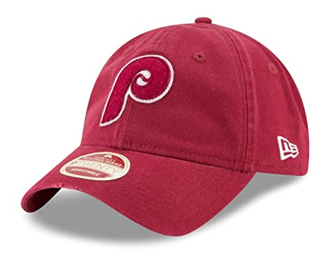 brand new acdee f93d7 Image Unavailable. Image not available for. Color  New Era Philadelphia  Phillies 9Twenty Cooperstown Rugged Patch Adjustable Hat