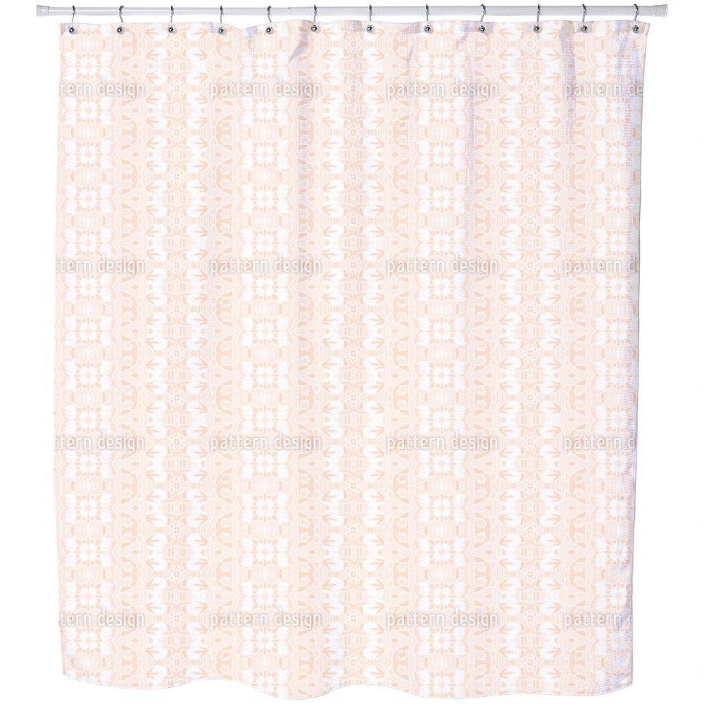 Uneekee Tempting Game Shower Curtain: Large Waterproof Luxurious Bathroom Design Woven Fabric