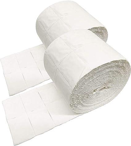 Crisnails® Celulosas para Uñas 2 x Rollo de 500 uds./1000 Celulosa de Alta Calidad Precortadas/Ideal para uñas: Amazon.es: Belleza