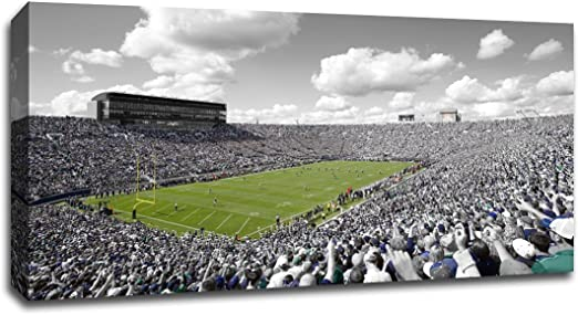 Notre Dame Football College Posters Framed Pictures and Wall Decor by Blakeway Panoramas