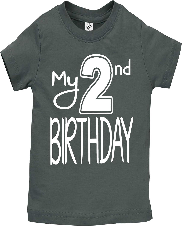Aiden's Corner Boy Girl My 2nd Birthday Tee Shirts - Handmade Second Birthday Outfits