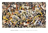 Convergence Abstract Expressionism Art Print by