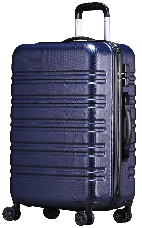 [luckypanda(ラッキーパンダ)] TSAロック搭載 スーツケース TY8098 機内持ち込み可 B0756Y9D9L L|ネイビー ネイビー L