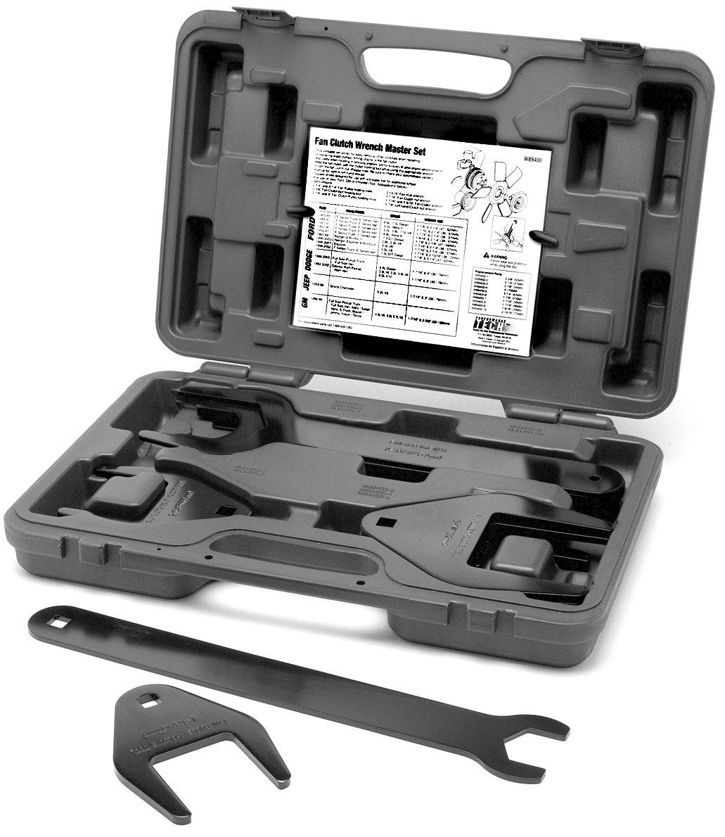 Performance Tool W89400 10-Piece Fan Clutch Wrench Set Wilmar Performance Tool