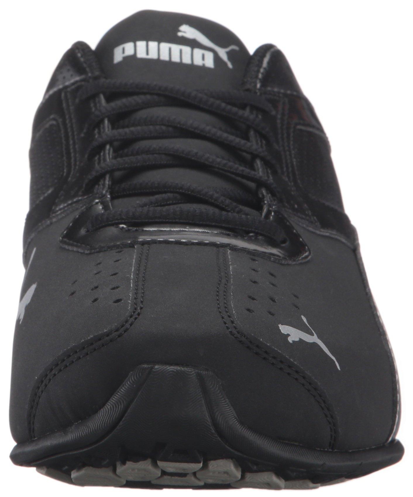 PUMA Men's Tazon 6 FM Puma Black/ Puma Silver Running Shoe - 8 D(M) US by PUMA (Image #4)