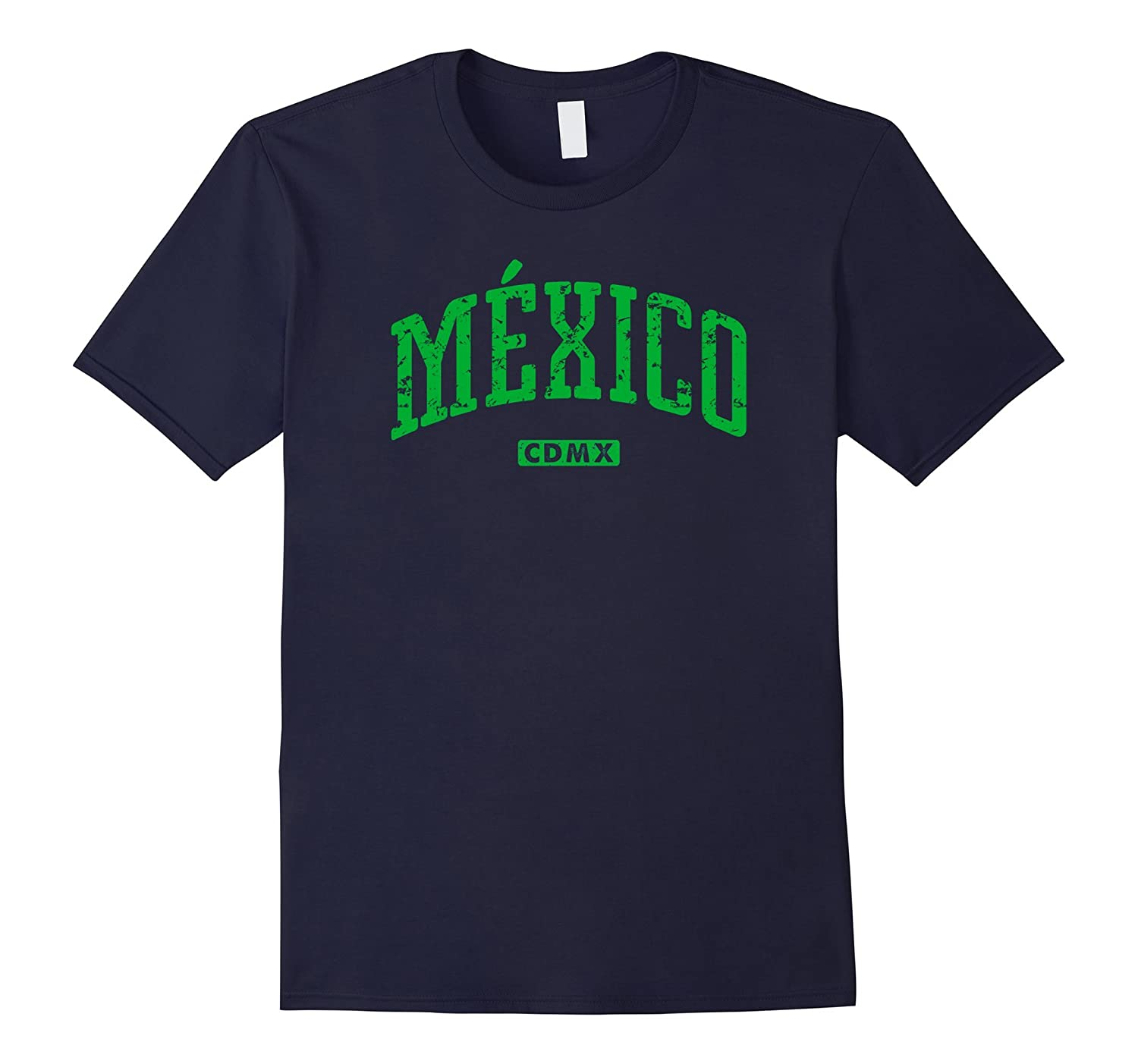 Mexico CDMX Vintage City T-Shirt-Art