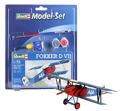 9fa7e93a0c6d Revell 64194 29 Pieces Fokker D VII Model Set