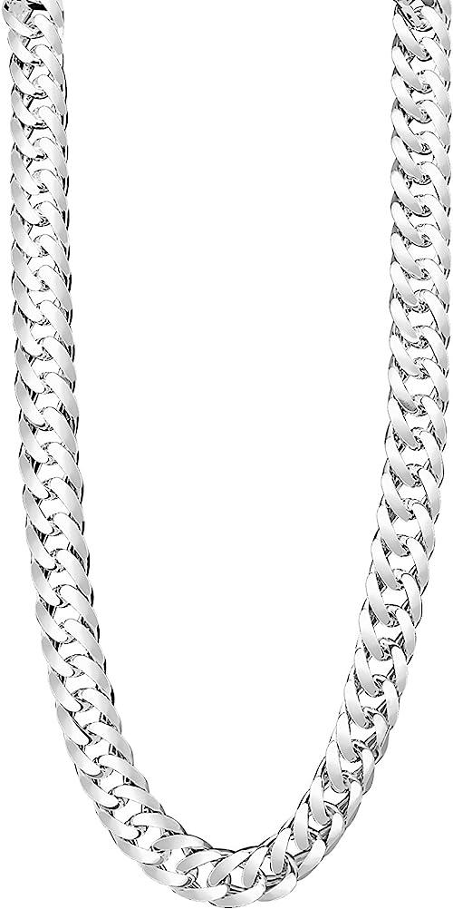 Panzerkette Silberkette Echt 925 Sterlingsilber Halskette Silber Kette 6mm Neu