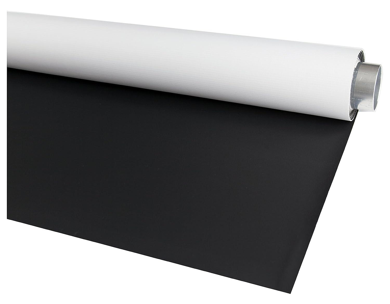 Pellicola fotografica double face colore: Nero opaco//Bianco High Key in vinile Bessel misura per auto 1,45 x 4,0 m
