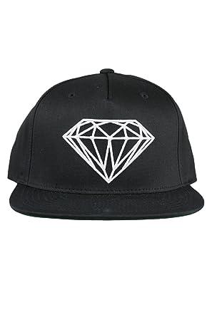 timeless design 6bce3 75bad Diamond Supply CO Brilliant Snapback Cap Hat Black  Amazon.co.uk  Clothing