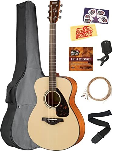 Yamaha FS830 Solid Top Small Body Acoustic Guitar