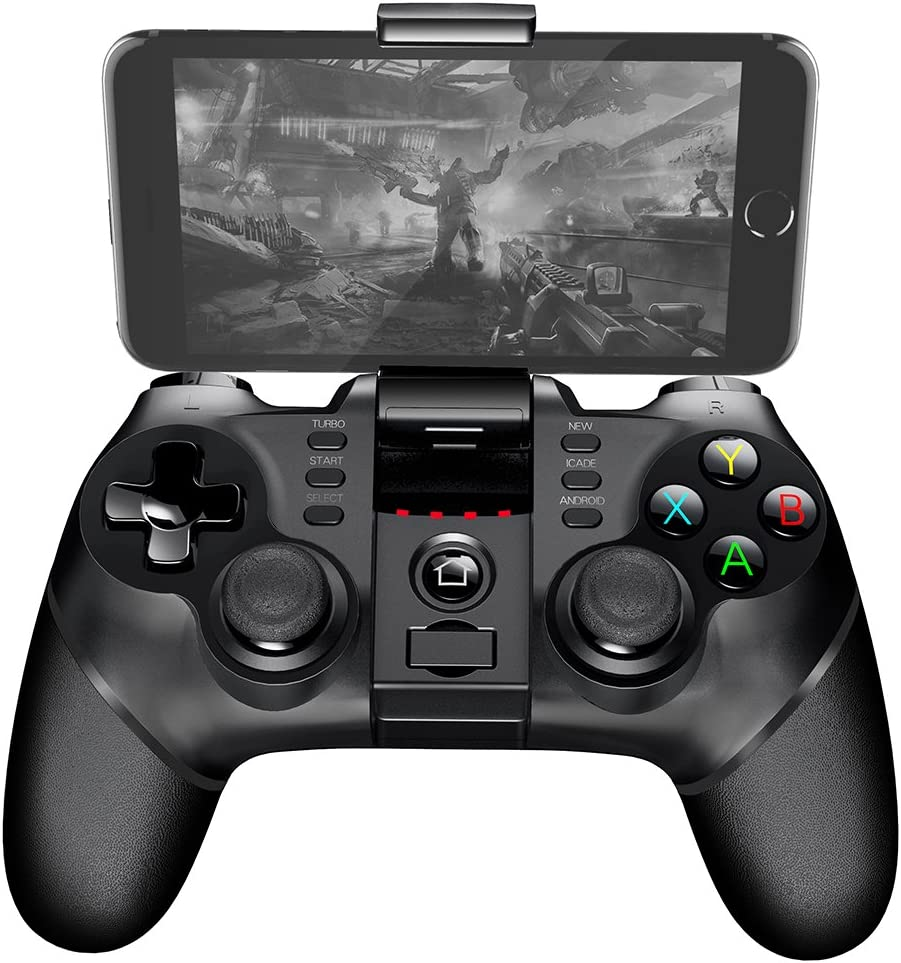 UWY Wireless Gamepad Controller Bluetooth Game Controller For PC iPad iPhone Smart Phone Smart Television TV Box Compatible with Android iOS Win XP Win Operating System