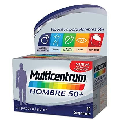 Multicentrum Hombre 50+ - 30 comprimidos