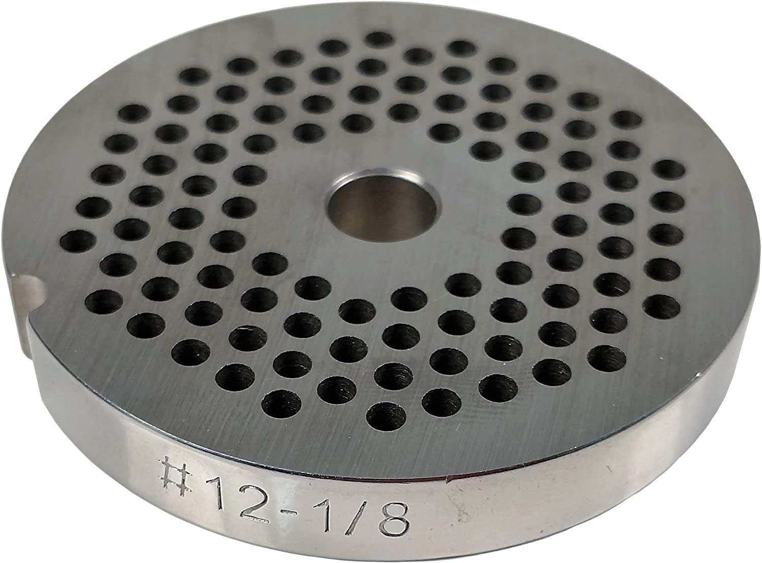 Food Service Knives #12 Meat Grinder Plate (1/8 in.)