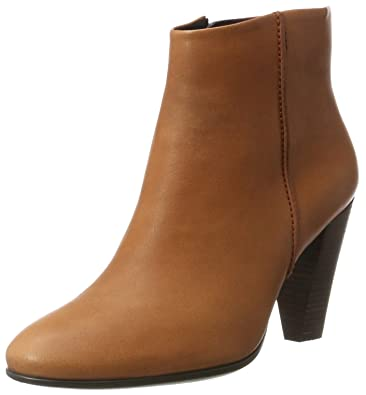 ECCO Women's Women's Shape 75 Ankle Bootie, Cognac, ...